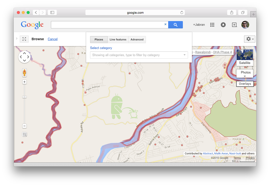 Android vs Apple at Google Maps